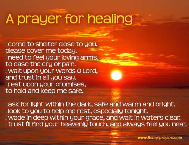Speedy Recovery Prayer from Surgery & for Healing